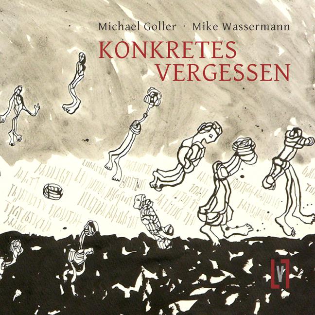 Konkretes Vergessen - Buchcover