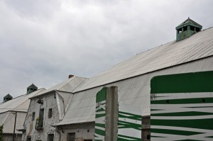 Ostrale Gebäude: ehemaliger Schlachthof
