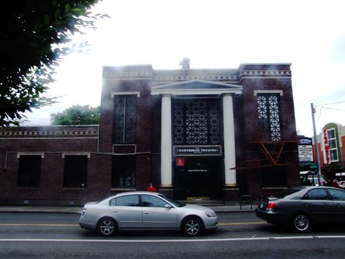 Hawthorne Theatre in Portland, hier drin fand mein erster Portland gig statt..