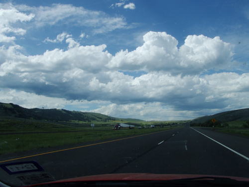 Idaho Richtung Oregon