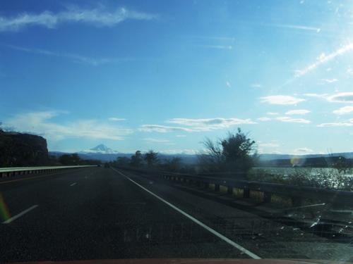 Entlang Der Grenze Von Orgenon Und Washington In Richtung Portland
